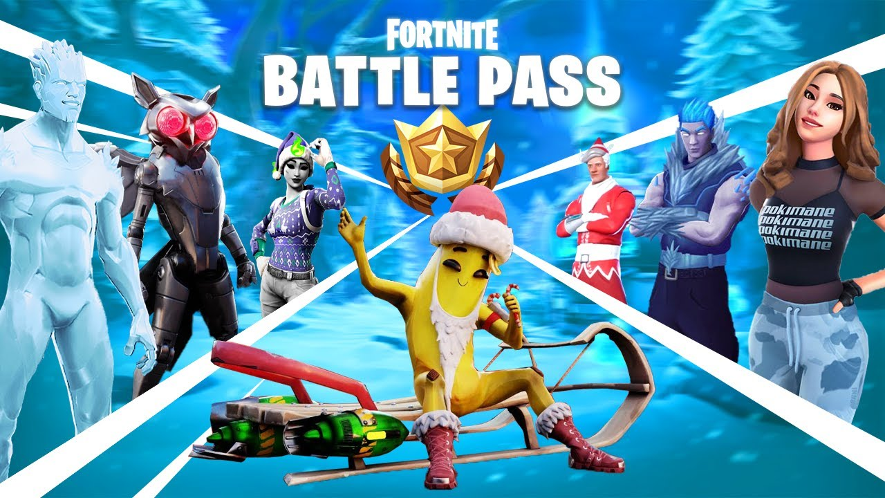 Fortnite Season 5 Battle Pass : Buying All 100 Tiers ...