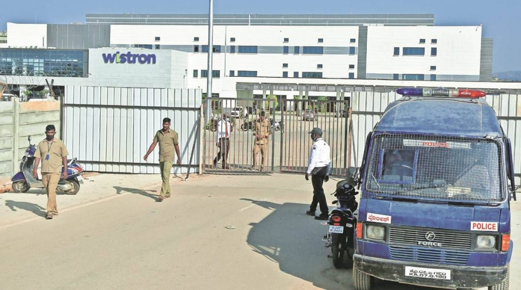 After Indian workers riot, Wistron under probation period from Apple