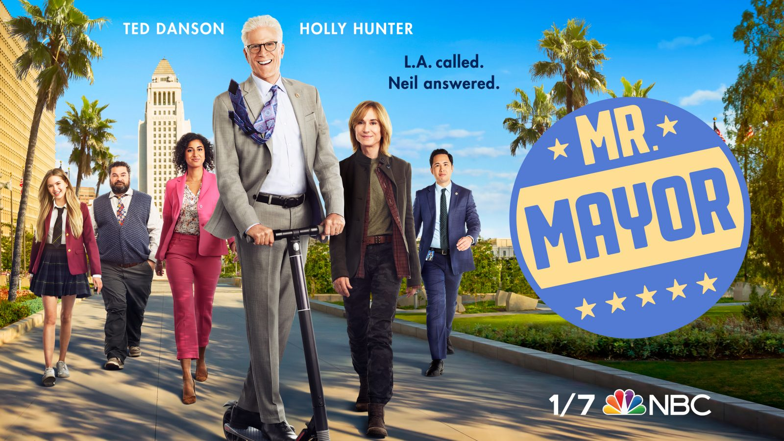 Ted Danson Maintains His Stellar Performance on Mr. Mayor Sitcom