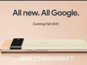 New release Google pixel 6
