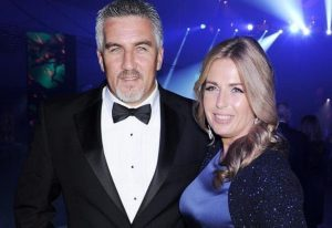 Paul Hollywood with his wife